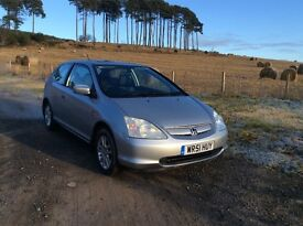 Honda Civic ONLY 49k miles, one year mot, Automatic