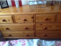 Goldpine Chest of Drawers