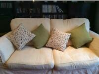 Beautiful large Two seater Sofa £50