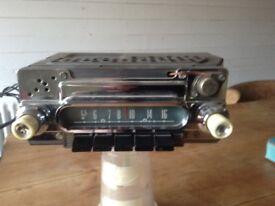1950 ford radio hotrod