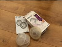 Avent breast shells