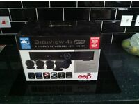 Digiview 4i pro 4 channel networkable CCTV system.