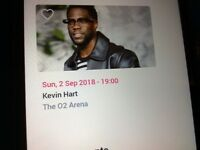 Kevin Hart concert tickets x2 at The O2 Arens