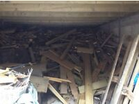 Free wood to whoever will collect, pallets etc. Large quantity ideal for bonfire.