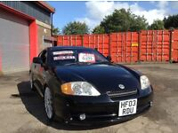 Low mileage Hyundai Tuscany Coupe 2.7 V6 supercharged mot until March