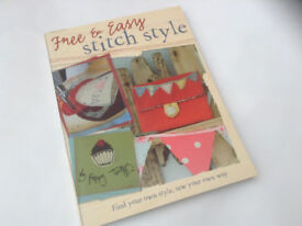 Poppy Treffry Free and Easy Stitch Style craft sewing book