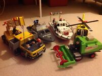 Bundle of 6 Playmobil Vehicles