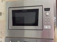 Electrolux Buit in Microwave Oven and Grill