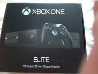 Xbox One Elite 1TB. SOLD