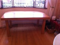 oak dinning table ... 6 seater