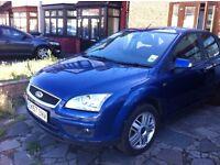 Ford Focus 5 dr Blue Ghia BRILLIANT DRIVE