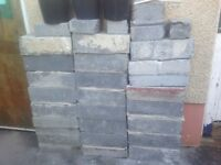 Concrete blocks mix of 4inch & 6inch. Also approx half tonne bag of unused builders sand