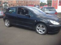 PEUGEOT 307 HDI 2003 for spares 166000 miles Half leather NO MOT engine misfiring/EML light on