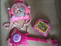 Pink Musical/ interactive toy bundle
