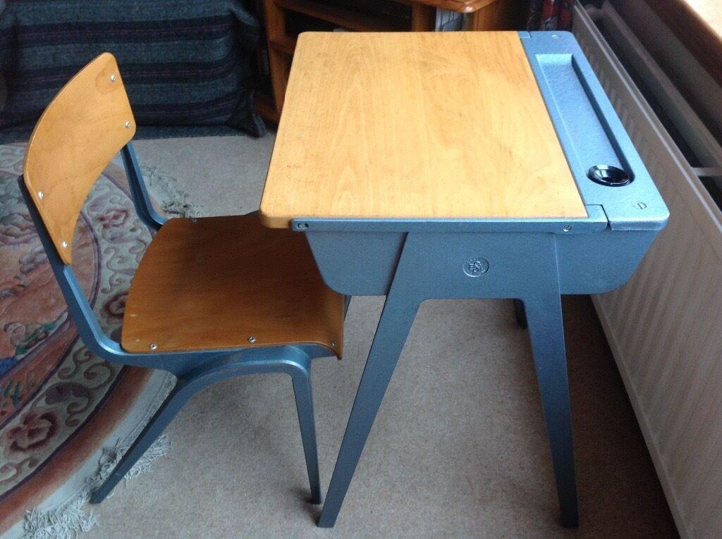 Ihram Kids For Sale Dubai: Children's Esavian Vintage School Desk And Chair