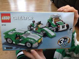 Lego car 6743