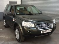 """LAND ROVER FREELANDER XS 2.2 TD4 2008 (BIG SPEC) FULL CREAM LEATHER 18""""ALLOYS FRONT AND REAR SENSORS"""
