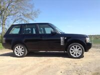 Range Rover vogue, low mileage