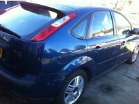 Ford Focus 5 dr Blue Ghia BRILLIANT DRIVE