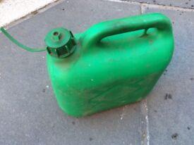 Petrol can 5 litre