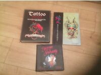 Tattoo Design Books, VGC, pages are all like new.