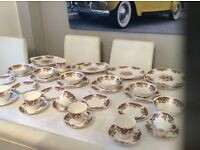 Vintage colcough Royals tea/ dinner set