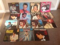 Elvis Presley lp records
