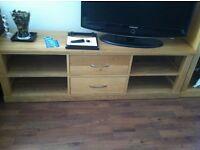 7 Piece Solid Oak living Room Furniture