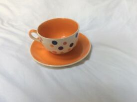 Oversized Whittard of Chelsea Cup and Saucer