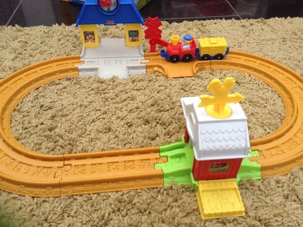 Little people's train track
