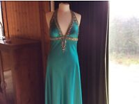 Lovely turquoise party dress