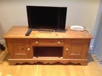 Wooden TV cabinet and storage