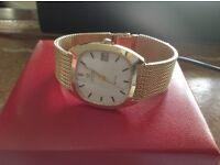OMEGA DEVILLE 1973 SOLID 9ct GOLD GENTS WATCH BOXES PAPERS ORIGINAL RECEIPT ONE OWNER AUTO SERVICED
