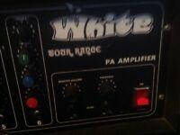 ORANGE/MATAMP/RED/GREEN/WHITE AMP 100 WATT
