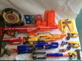 Huge NERF bundle. Great condition