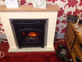 Suncrest 2kw fire and surround