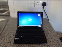 Samsung NC 110 netbook with windows 7