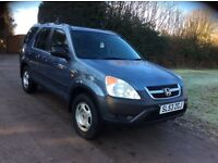 Honda CR-V for sale low miles good condation 03 plate