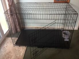 Dog crate mint condition