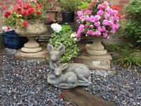 Mother and Baby Deer Garden Ornament