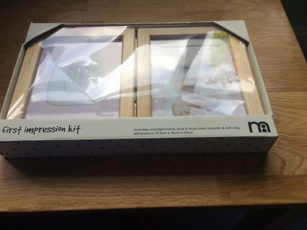 Brand new Mothercare first impression kit