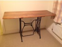 Funky oak table