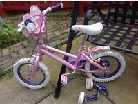 Disney girls bike