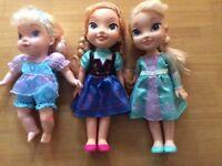 Disney frozen -Anna and Elsa dolls