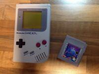 Nintendo Game Boy with Tetris Game