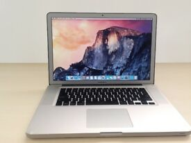 MacBook I7 8gb memory / 256 solid state drive