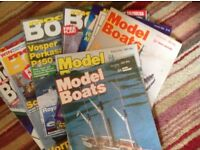 FREE model Boat magazines between 100/150 would be great for model boat makers..collect CH47 area