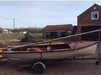 Marine tutor sailing dinghy