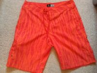 Quicksilver (2) , Hurley and Nike Surf Shorts size medium