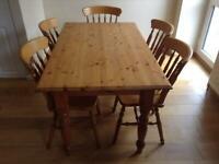 Farmhouse Pine Dining Table